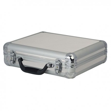 Valise silver pour 7 micros
