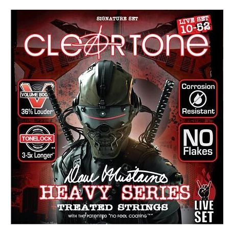Cleartone Dave Mustaine Live 10-52