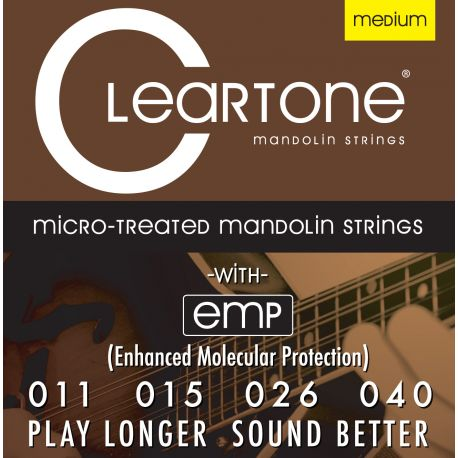 Cleartone Cordes Mandolin Phos-Bronze Medium 7511