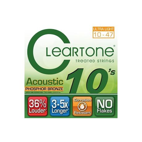 ClearTone Phosphore Bronze 7410 Extra Light