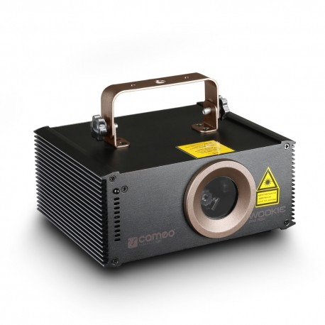 Cameo WOOKIE 200 RGY - Laser animation RGY 200 mW