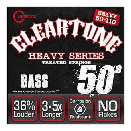 Cleartone Bass Monster Heavy 4 cordes 50-110